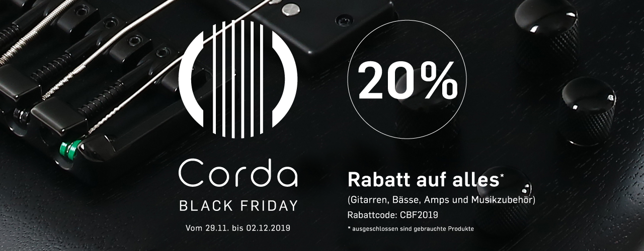 -20 % Corda Black Friday & Cyber Monday Sale 2019